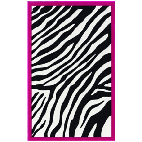 kids zebra rug 3ft