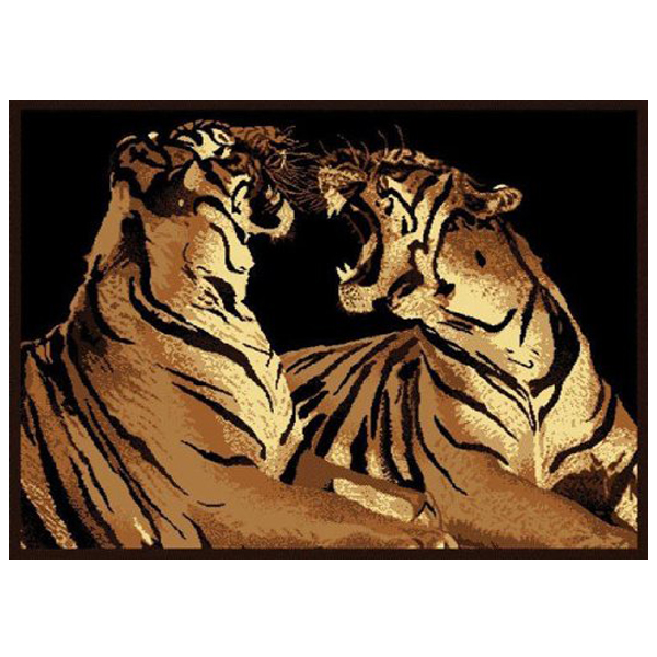 Tigers Rug 5ft. 3in. X 7ft. 2in